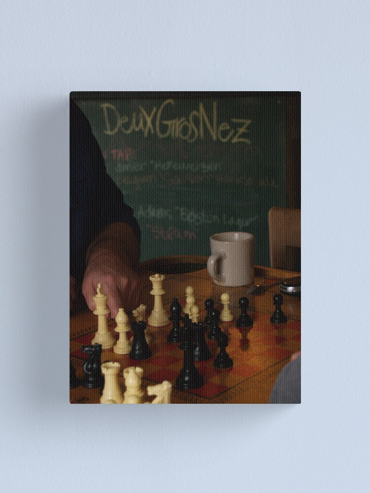 Alternate view of DGN Chess I Canvas Print