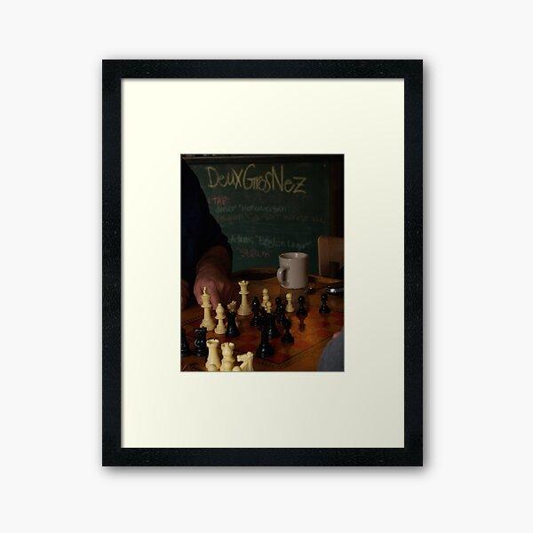DGN Chess I Framed Art Print