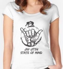 Jiu-Jitsu state of mind Women's Fitted Scoop T-Shirt