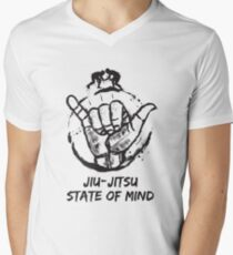 Jiu-Jitsu state of mind Men's V-Neck T-Shirt