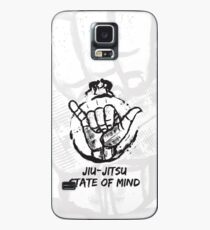 Jiu-Jitsu Geisteszustand Hülle & Klebefolie für Samsung Galaxy