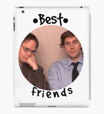Jim and Dwight - Best Friends Unite! iPad Case/Skin