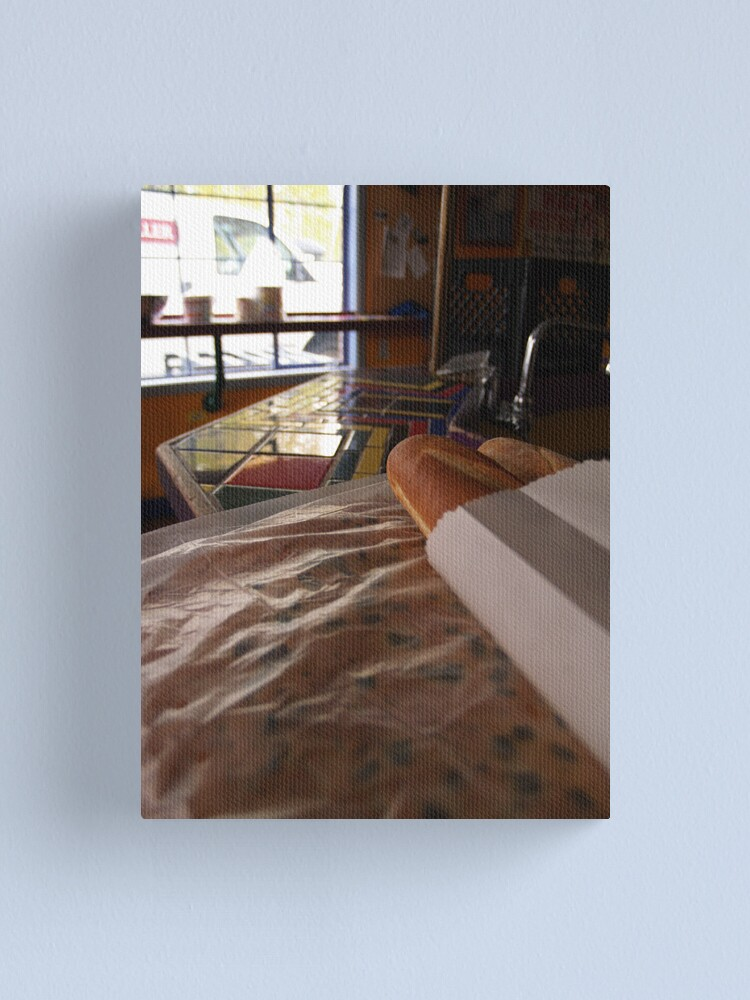 Alternate view of DGN Focaccia Canvas Print