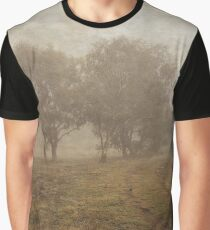 Winding Dirt Road through the Pinnacle in Canberra/ACT/Australia Graphic T-Shirt