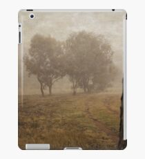 Winding Dirt Road through the Pinnacle in Canberra/ACT/Australia iPad Case/Skin