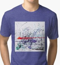 Inside Abstract by Masko7 Tri-blend T-Shirt