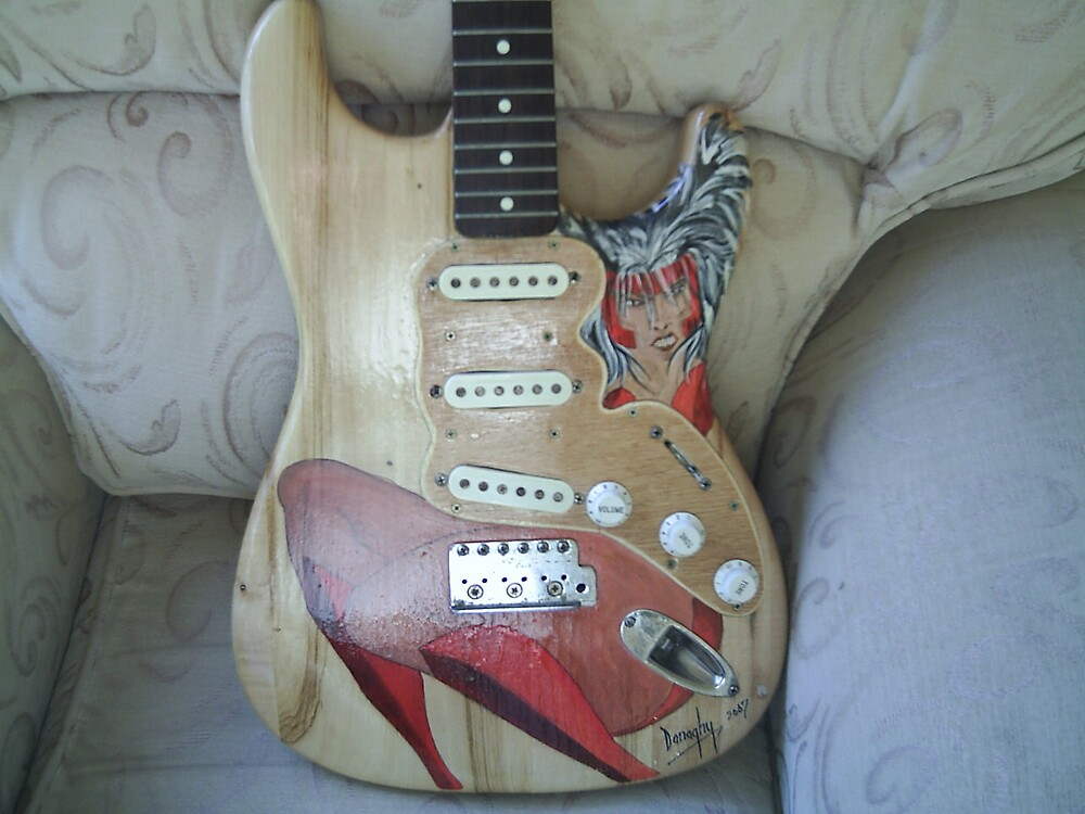 guitar by donaghy