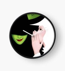Wicked Broadway Playbill Cover Artwork Clock