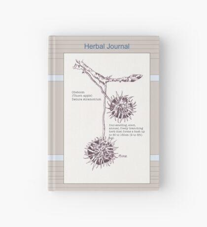 Olieboom (Thorn apple) - Botanical illustration Hardcover Journal