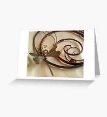Dragonfly Moon Greeting Card