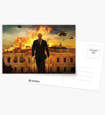 badass putin Postcards