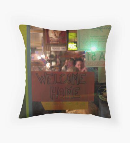 DGN 'Welcome Home' Throw Pillow