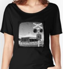 Stop on Red - Through The Viewfinder (TTV) Women's Relaxed Fit T-Shirt
