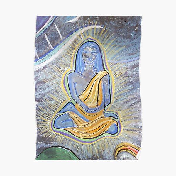 Babaji (from Chalk Meditation #4) Poster