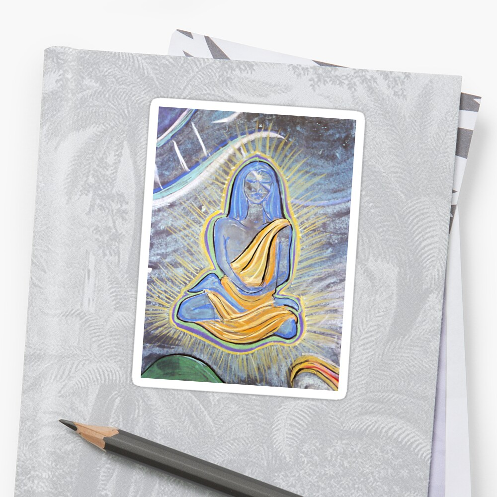 Babaji (from Chalk Meditation #4, August 2004) by Shining Light Creations