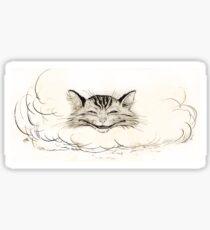 The Cheshire Cat by Arthur Rackham Sticker