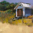 Beach Hut by Claire McCall