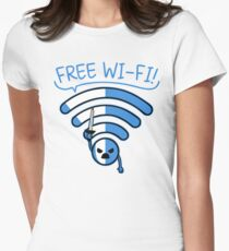 Free Free!!! Womens Fitted T-Shirt