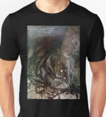 Lazy Lizard by Arthur Rackham Unisex T-Shirt