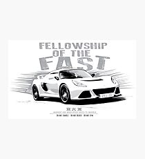 Fellowship of the Fast Photographic Print