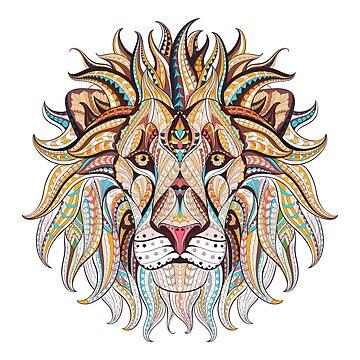 Tribal Lion by harshaldesai