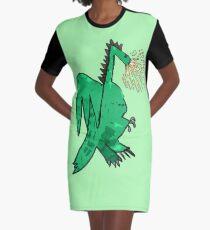 Legendary Dragon by Nicola Graphic T-Shirt Dress