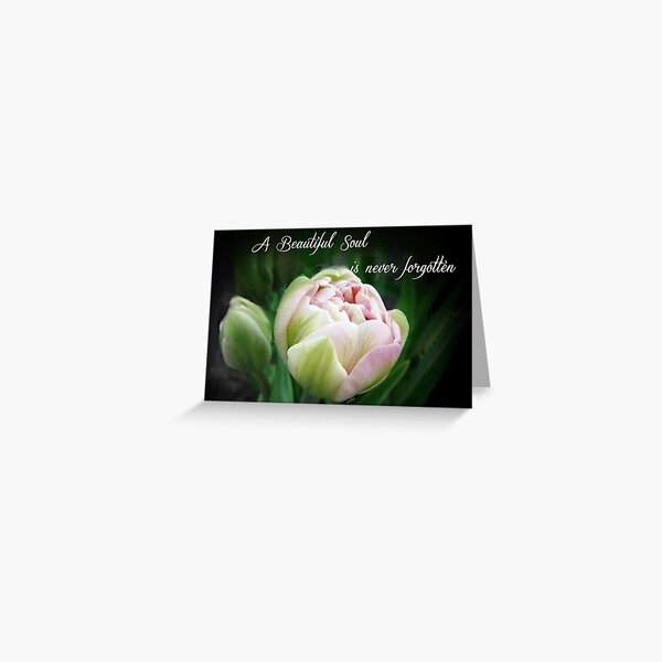 A Beautiful Soul is Never Forgotten Greeting Card