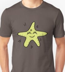 Cartoon Happy Starfish Unisex T-Shirt