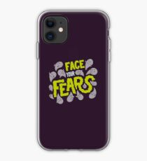 Face your fears iPhone Case