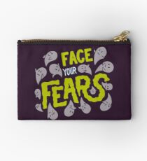 Face your fears Zipper Pouch
