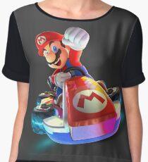 Mario Kart 8 Deluxe Women's Chiffon Top