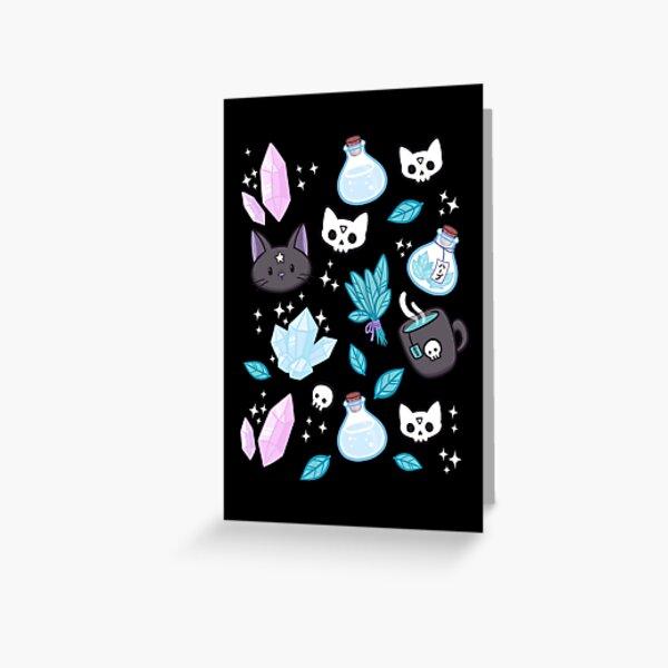 Herb Witch // Black | Nikury Greeting Card