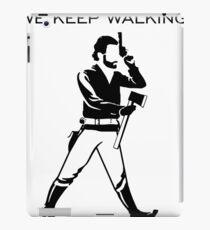 We keep Walking iPad Case/Skin