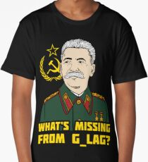 What's Missing From Gulag? Long T-Shirt