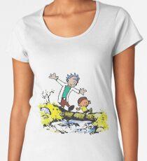 walk in river Women's Premium T-Shirt