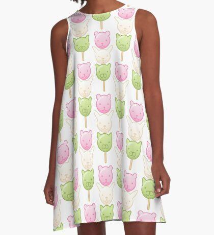Cute Dango A-Line Dress