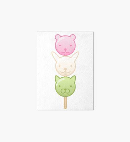 Cute Dango Art Board Print