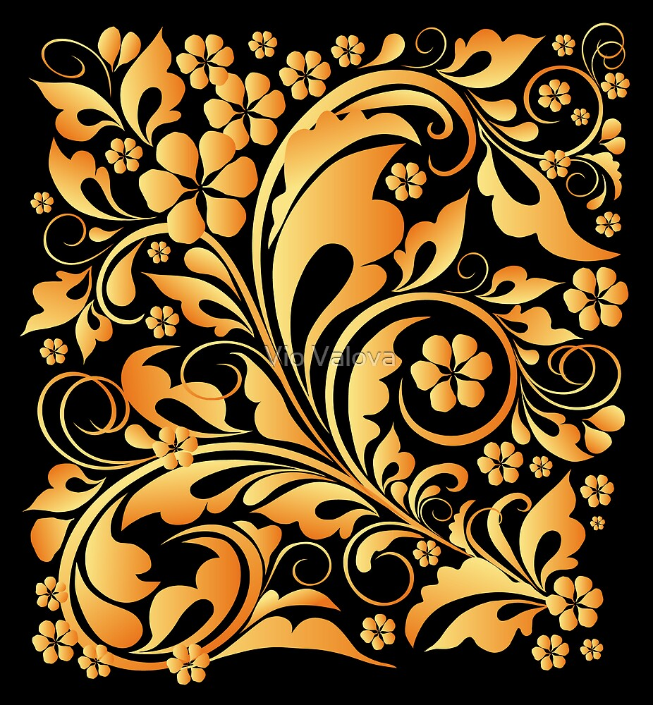 golden leaves by VioDeSign