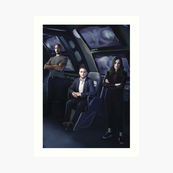Agents Mackenzie, Fitz, Simmons Impression artistique