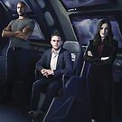 Agents Mackenzie, Fitz, Simmons of S.H.I.E.L.D by lorelei84