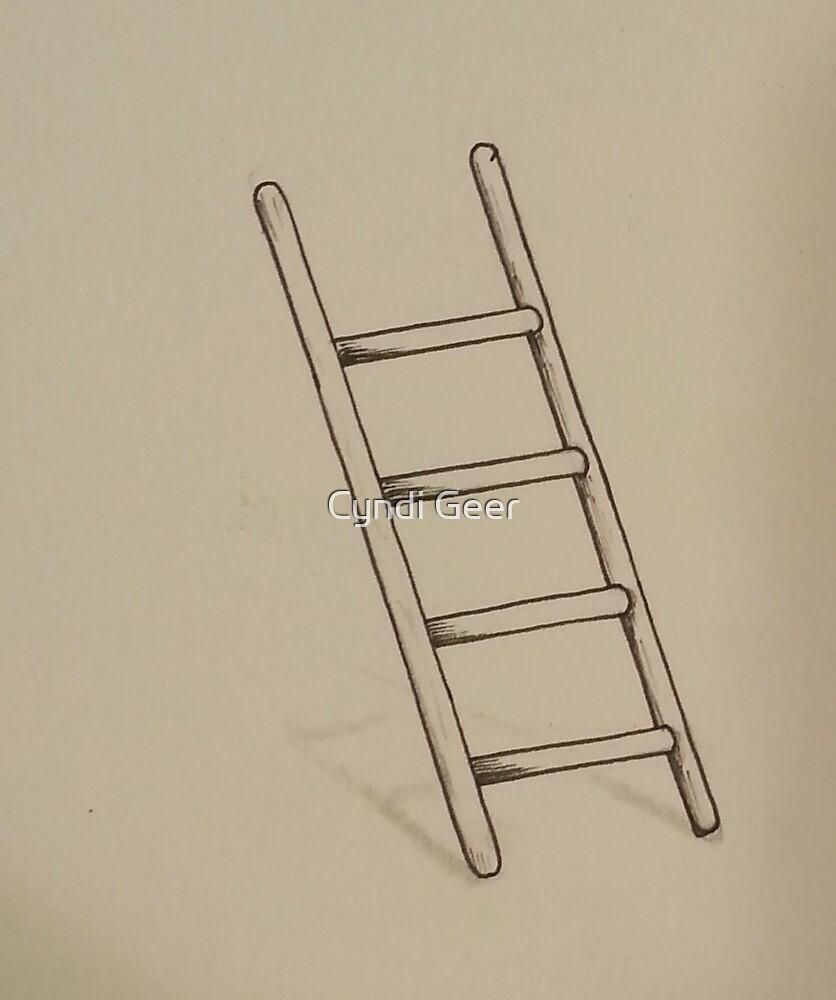 ladder by Cyndi Geer
