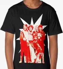 Björn & Benny, Agnetha & Anni-Frid - Red Ink Eurov. 1974 design Long T-Shirt