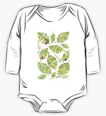 Tropic Fever —Greenery Version One Piece - Long Sleeve