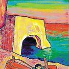 The red boat  by Loredana Messina