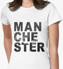 Manchester Womens Fitted T-Shirt