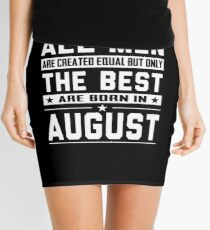 August Birthday Quotes Mini Skirts   Redbubble