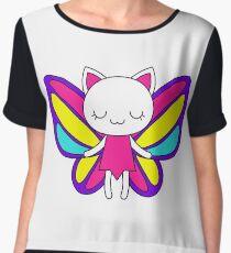 Vivid fairy cat Women's Chiffon Top