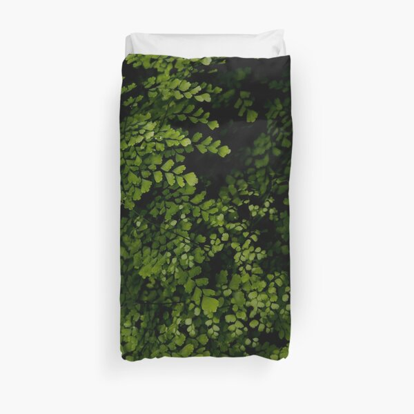 Small leaves.  Duvet Cover