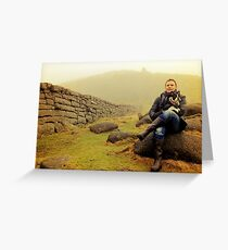 Mist on the Mourne Mountains Greeting Card