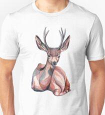 Watercolor Deer Unisex T-Shirt